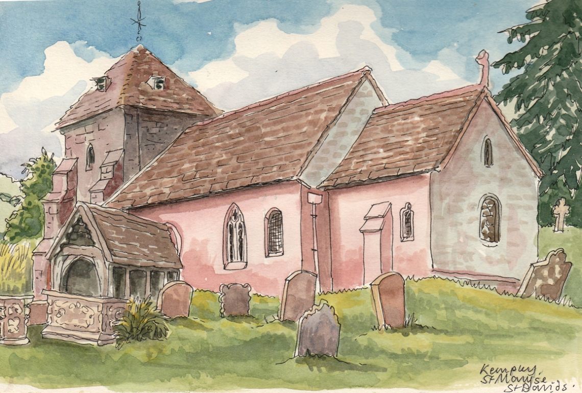 07-Kempley church