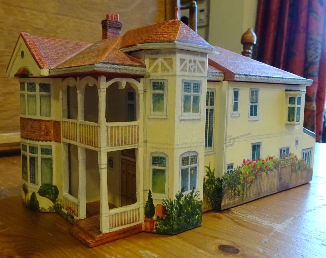 model of London house