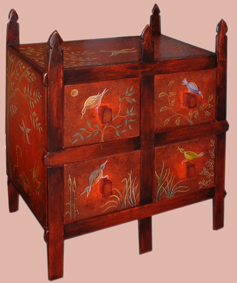 Chinoiserie casket