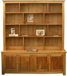 Dresser in wych elm