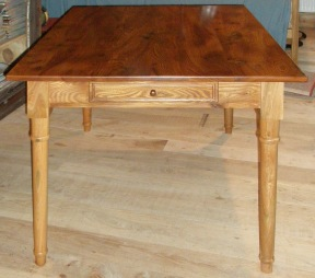 Elm kitchen table