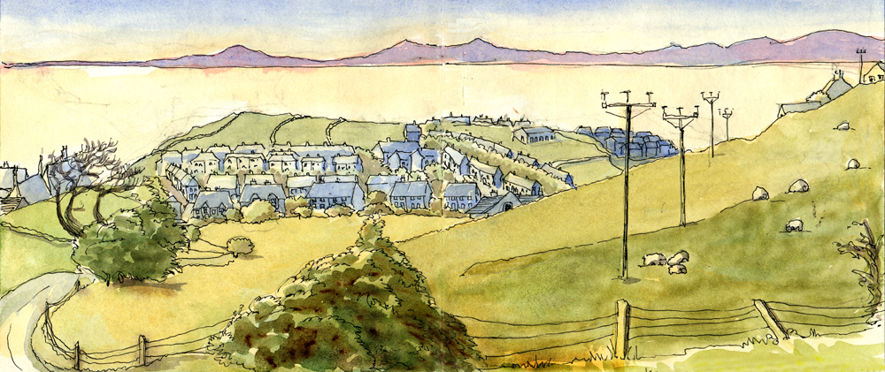 Harras Moor and the Solway