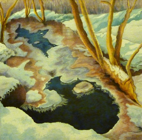 Hether Burn in winter