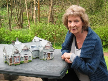 Mary with Keswick Museum box
