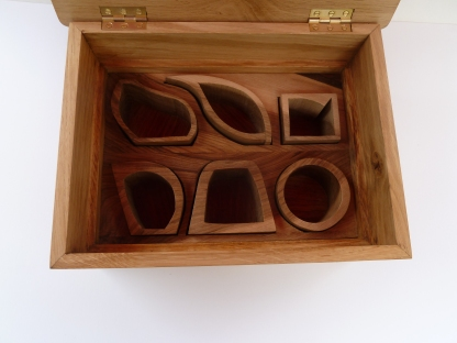 oak jewellery box, 4