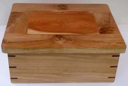 oak jewellery box