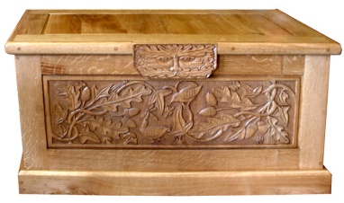 Seagrave oak chest