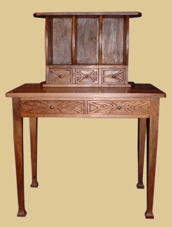 Desk in English Walnut