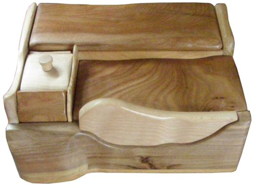 Wave jewellery box