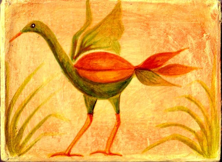 Yellow Mythical Bird.bmp